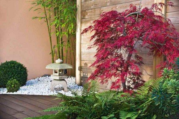 Entreprise pour la création d'un jardin zen japonais chez un particulier